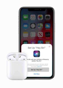 AirPods 2 Hey Siri