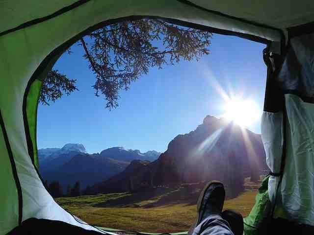 Escursione In Tenda