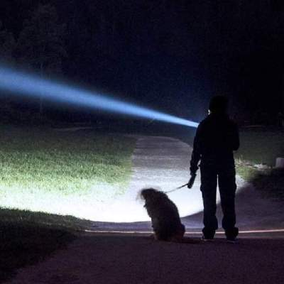 Luminosità di una Torcia LED