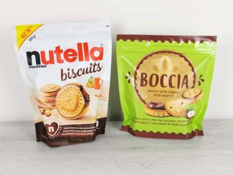 Nutella Biscuits VS Boccia