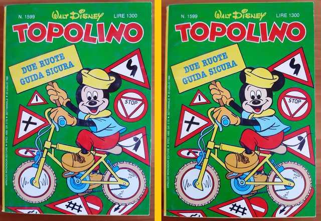 Pulizia Topolino