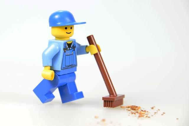 Spazzino LEGO