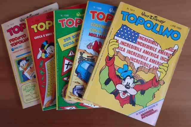 Topolino Anni '80
