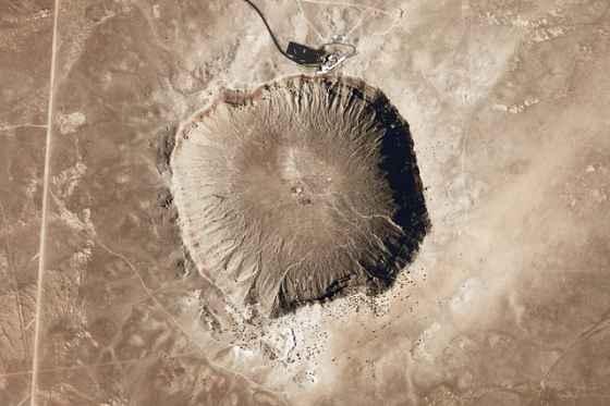 Cratere di un Meteorite