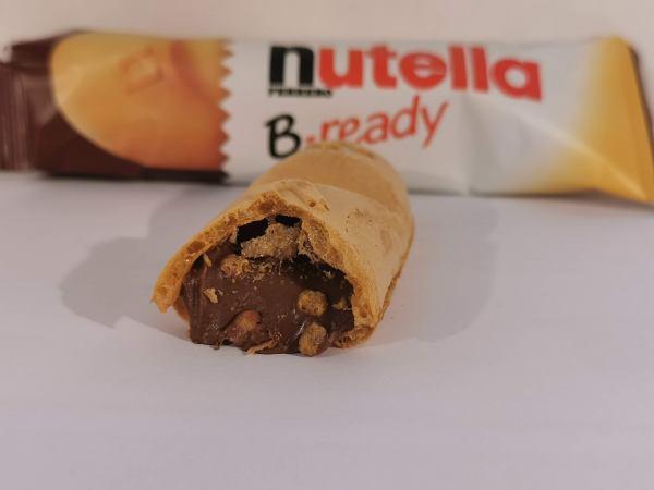 Prova di Assaggio Nutella B-ready