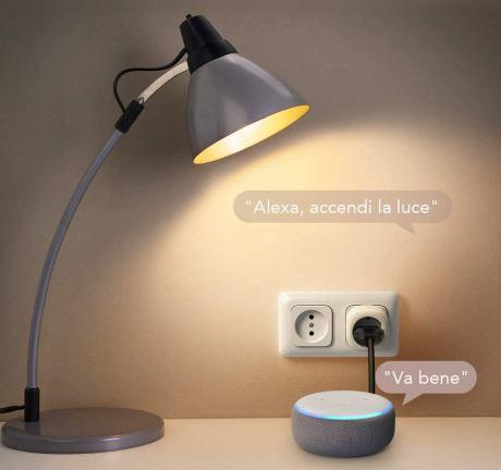 Smart Plug Compatibile con Alexa