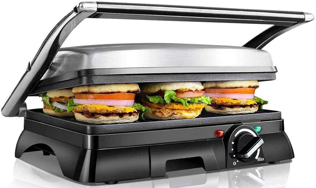Bistecchiera Elettrica Hamburger
