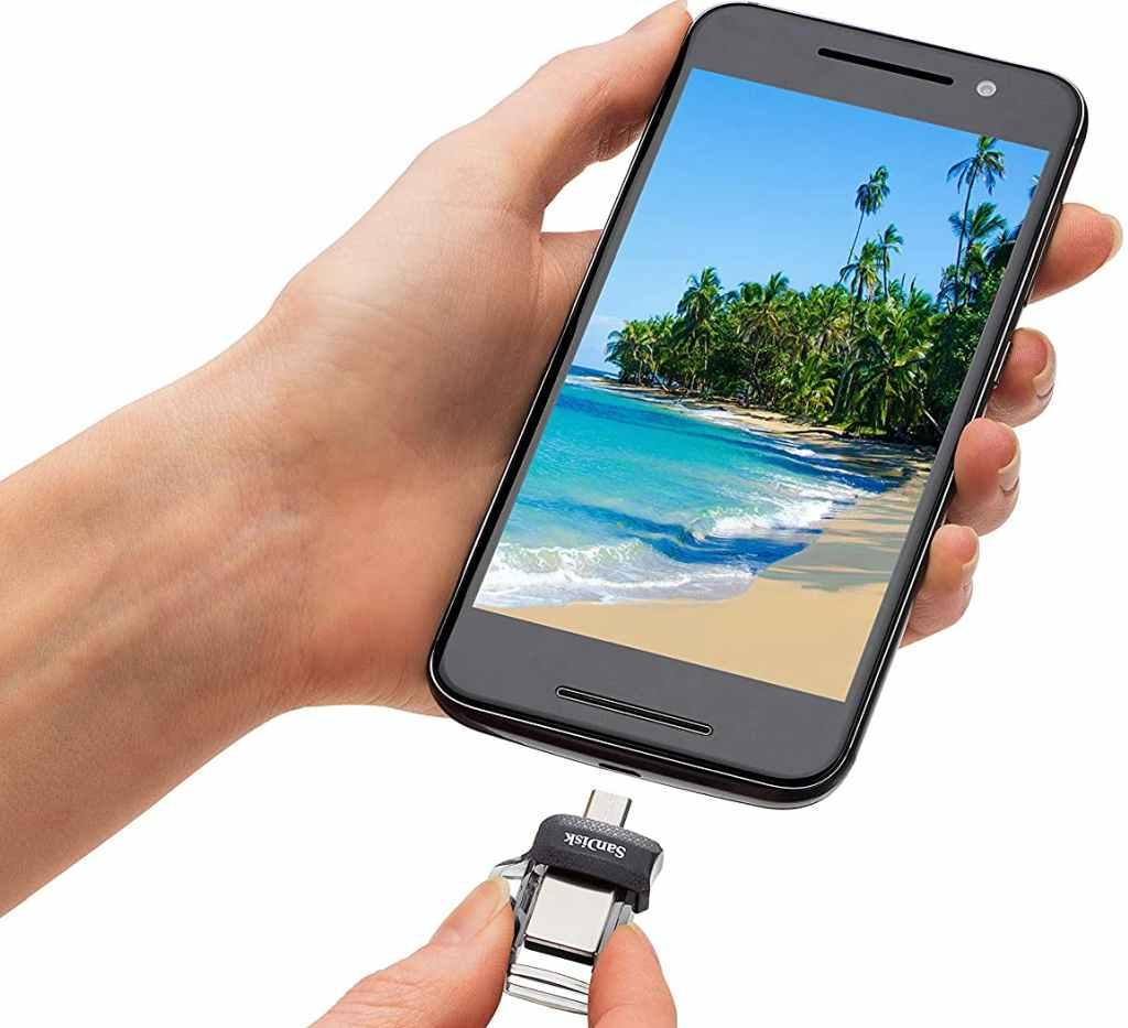 Utilizzare Pendrive con Smartphone