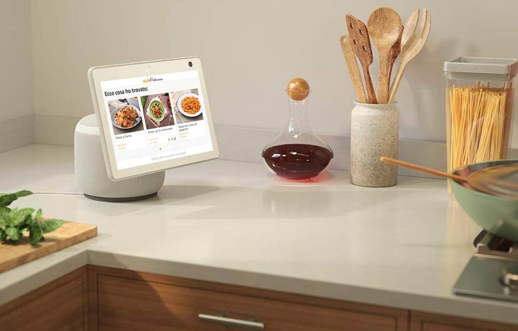 Echo Show 10 Ricette in Cucina