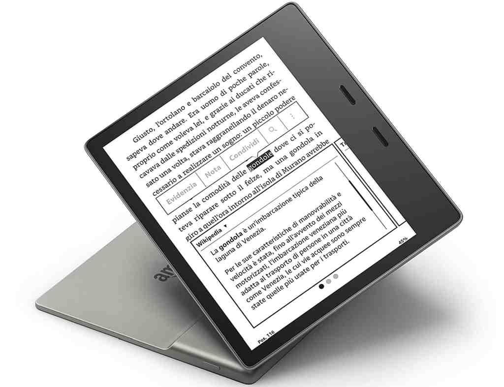 Ergonomia Lettore Ebook
