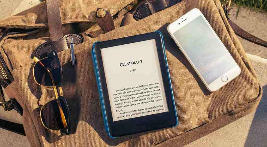Kindle con Schermo Anti Riflesso