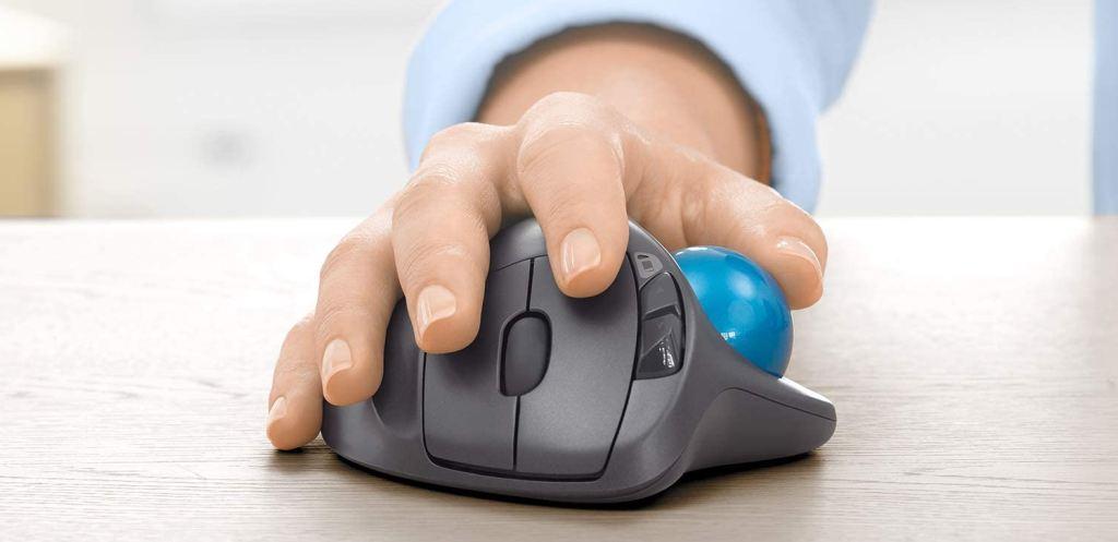 Mouse Dotato di Trackball