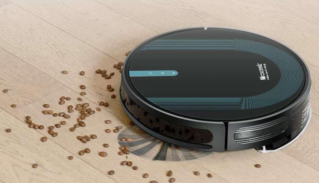 Robot Aspirapolvere Lavapavimenti Proscenic 850T Durante la Pulizia