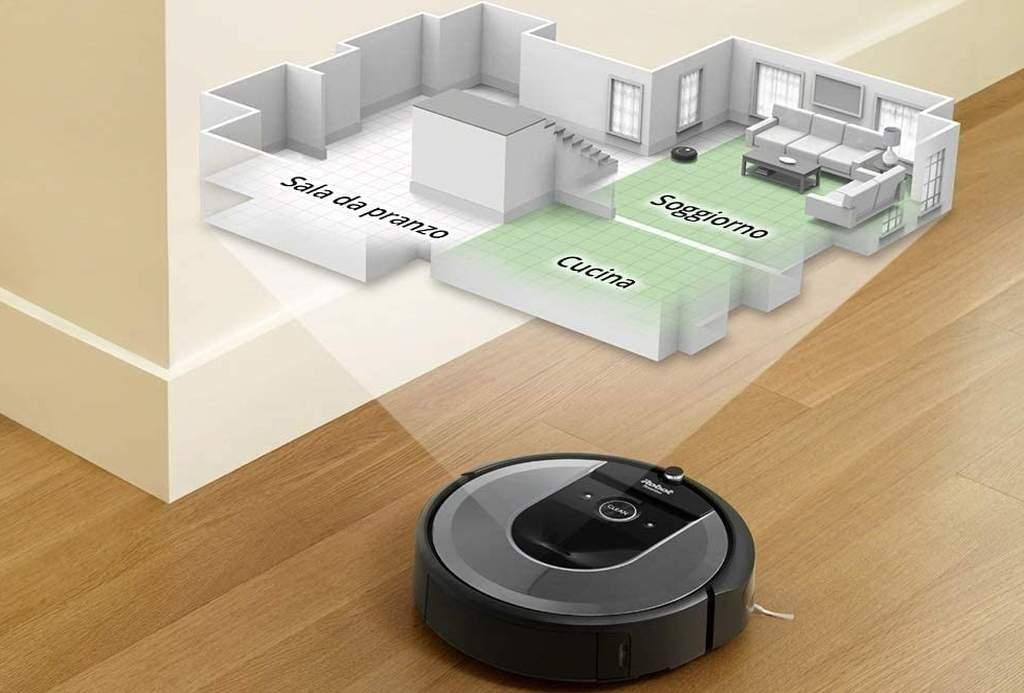 Mappatura del Roomba i7+
