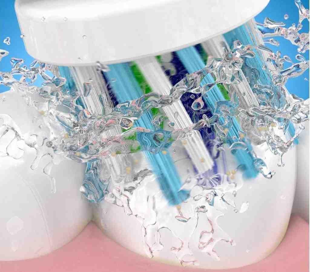 Igiene Orale Migliorata Grazie a Testina Arrotondata