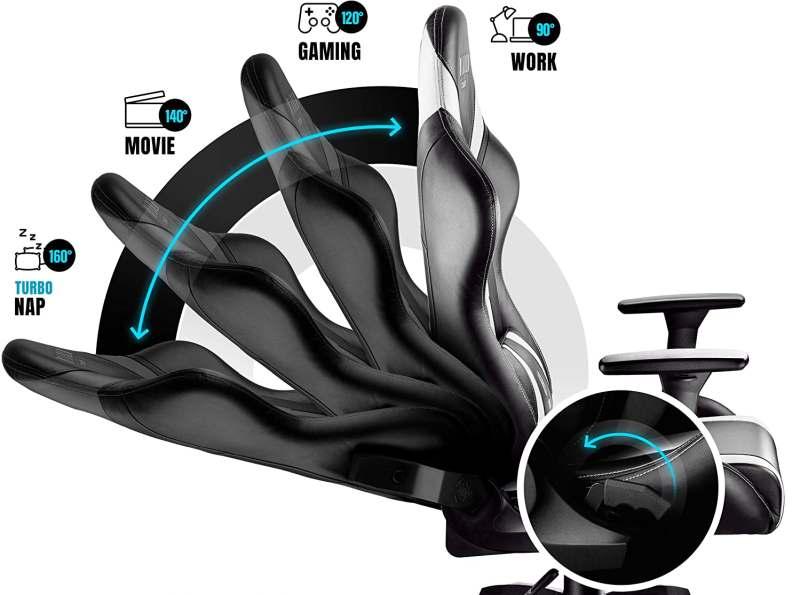 Inclinazioni Schienale Sedia da Gaming