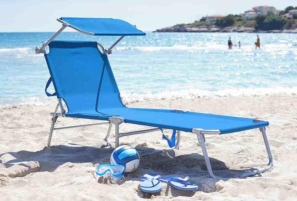 Lettino Prendisole Spiaggia
