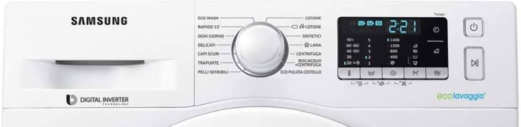 Pannello Controlli e Programmi di Lavaggio Biancheria