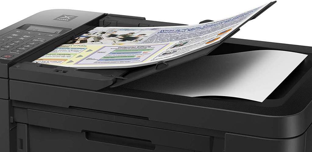 Alimentatore Automatico di Documenti di una Stampante Inkjet