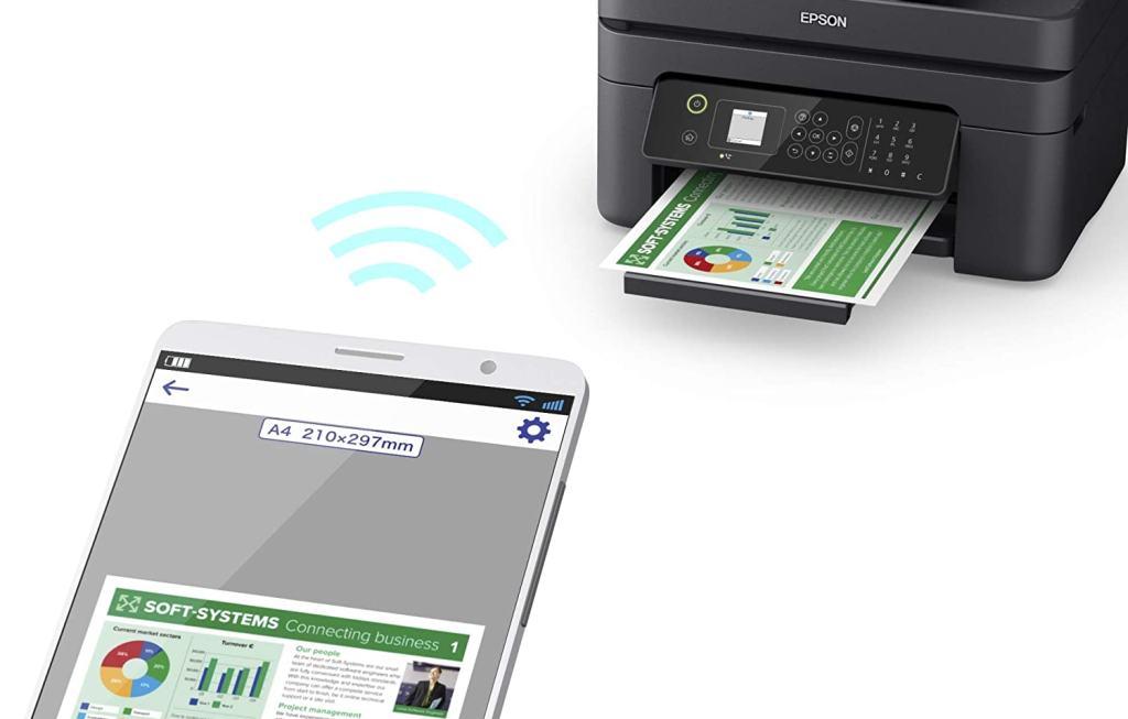 Stampante Inkjet con Connessione Wi-Fi