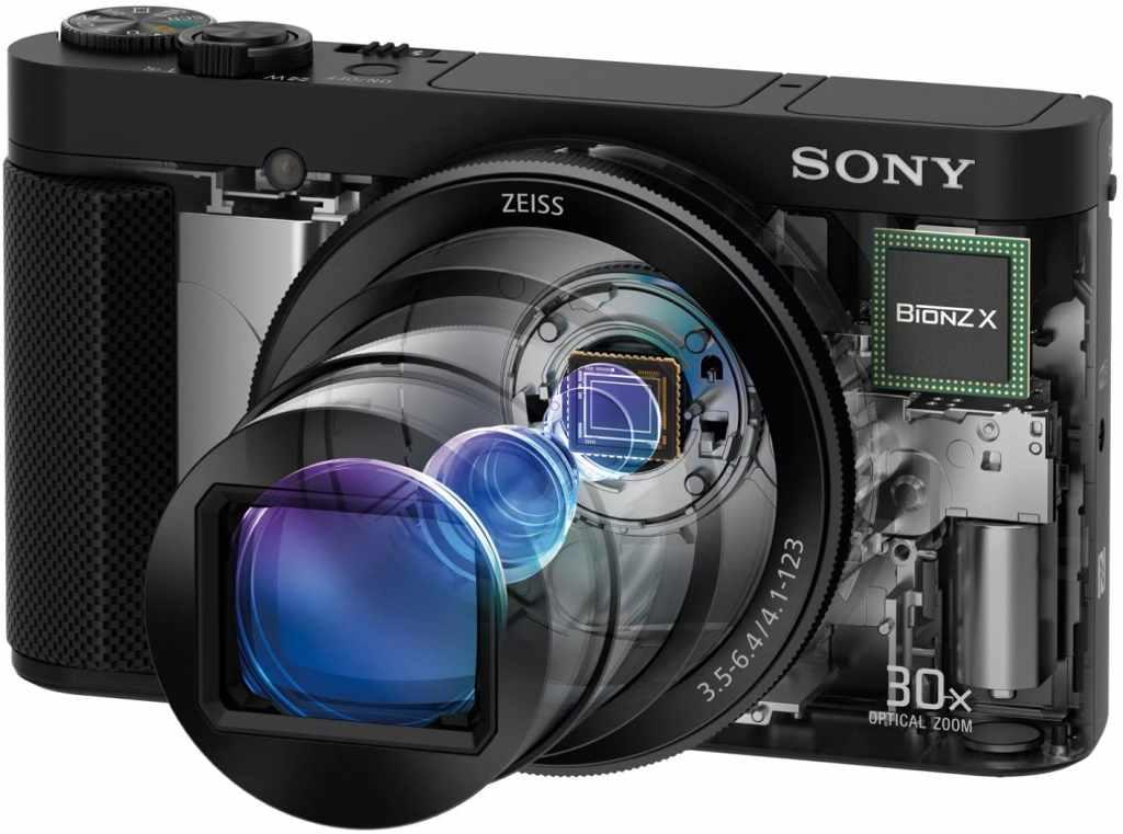Ottica e Sensore di una Fotocamera Digitale Compatta