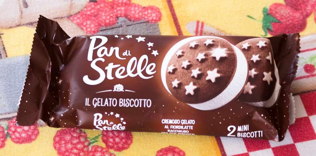 Porzione Gelato Biscotto Pan di Stelle