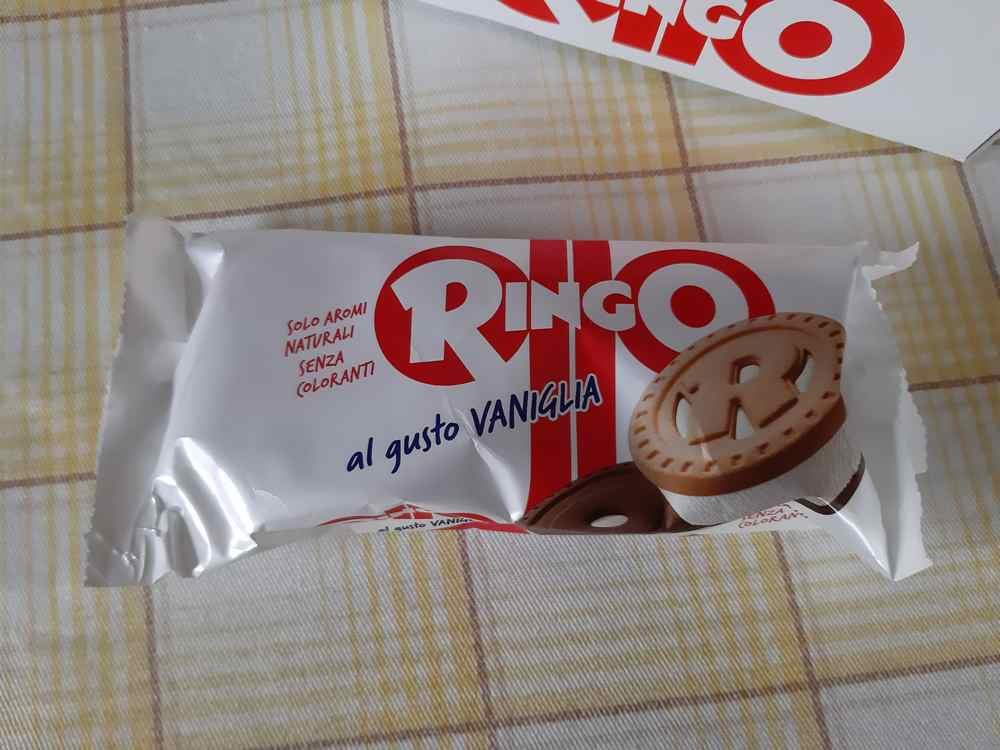 Porzione Gelato Ringo Vaniglia