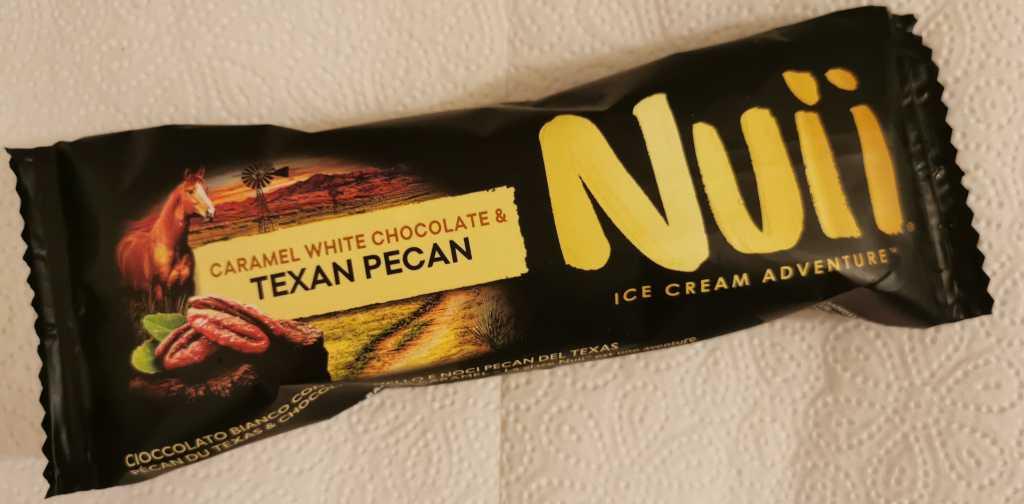 Recensione Gelato Nuii al Cioccolato Bianco con Caramello e Noci Pecan del Texas