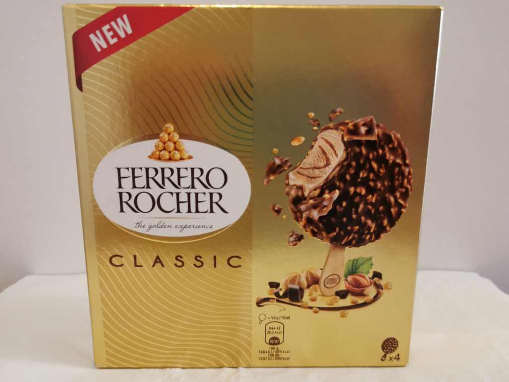 Recensione Gelato Ferrero Rocher Classic
