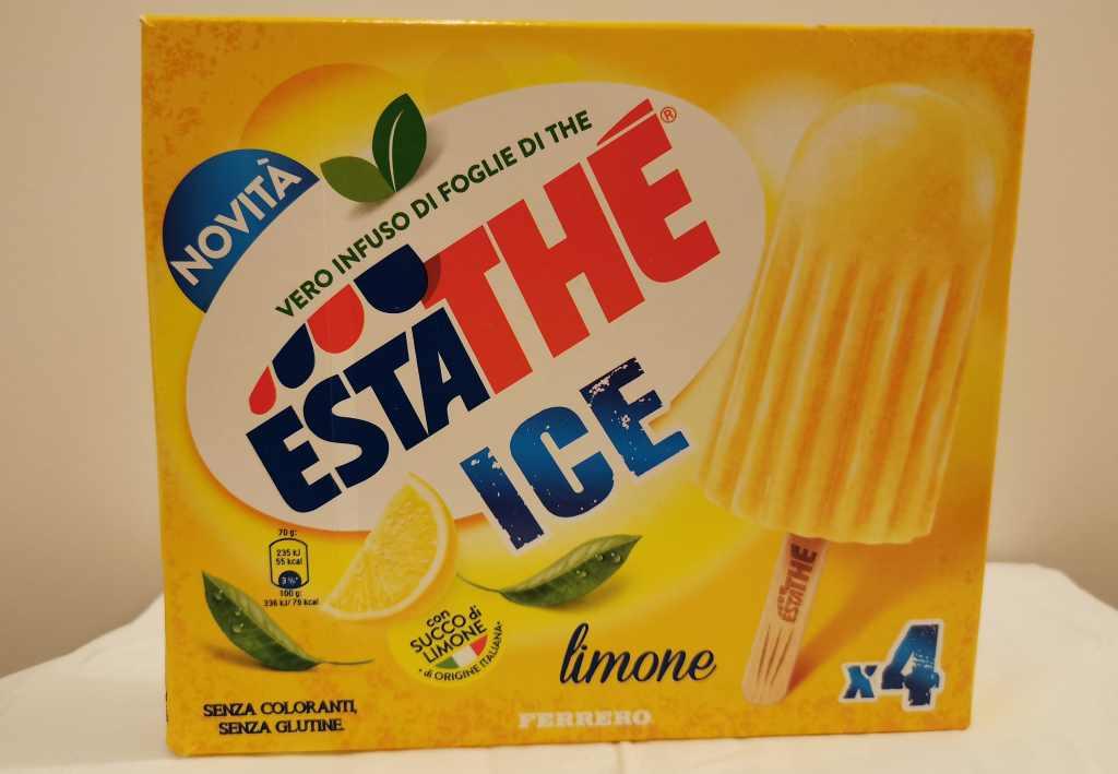 Recensione Ghiacciolo Estathé Ice al Limone
