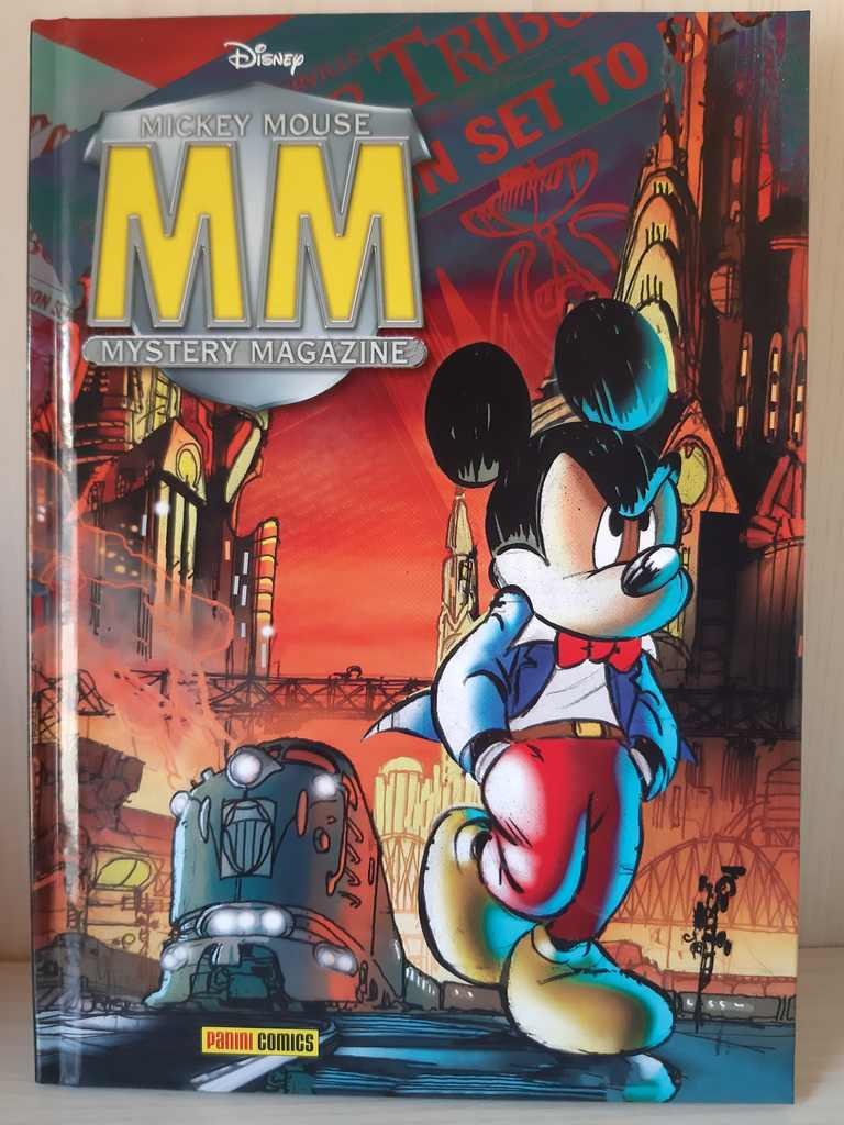 Ristampa Mickey Mouse Mistery Magazine